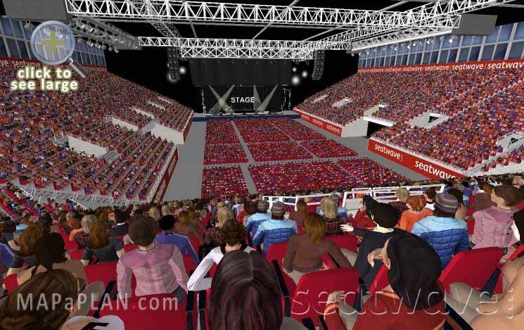 Birmingham Genting Arena Nec Lg Arena Detailed Seat