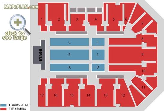 Nec Birmingham Map Birmingham Genting Arena NEC (LG Arena) detailed seat numbers  Nec Birmingham Map