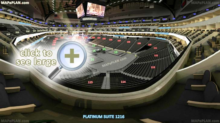 American Airlines Arena Dallas Seating Chart With Rows