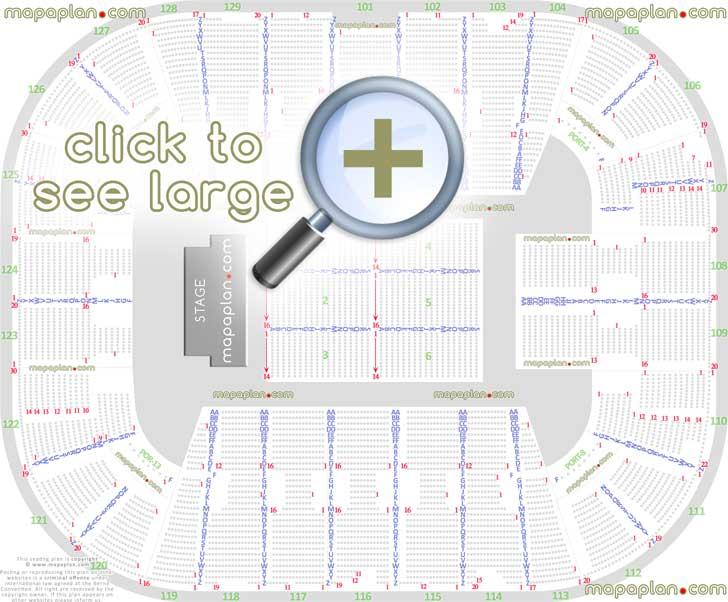 Eaglebank Arena Seat Row Numbers