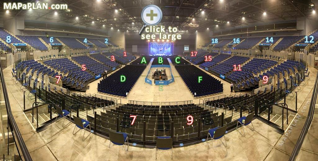 Liverpool Echo Arena Seat Numbers Detailed Seating Plan Mapaplan Com