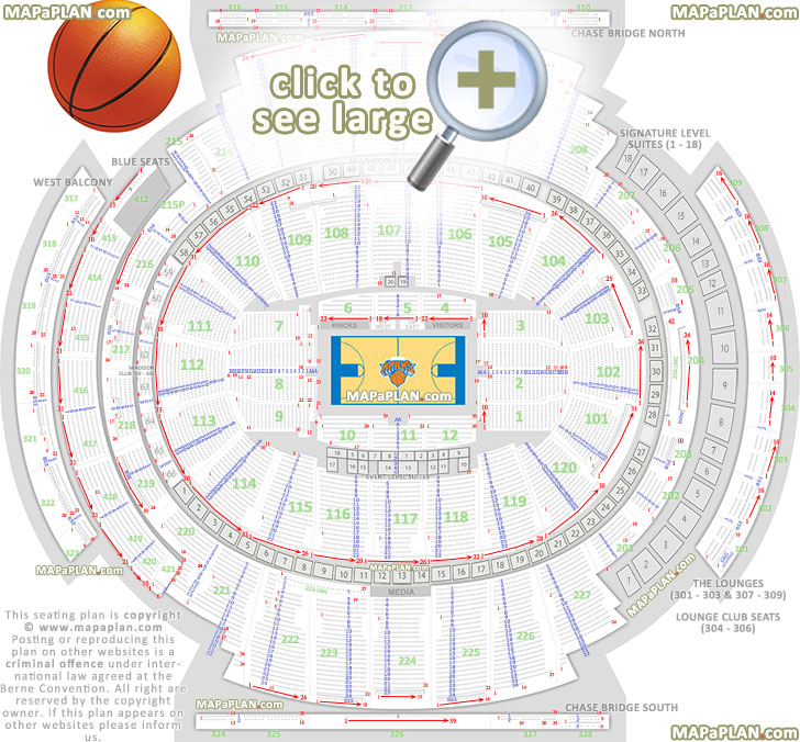 Msg Concert Seating Chart View | Awesome Home