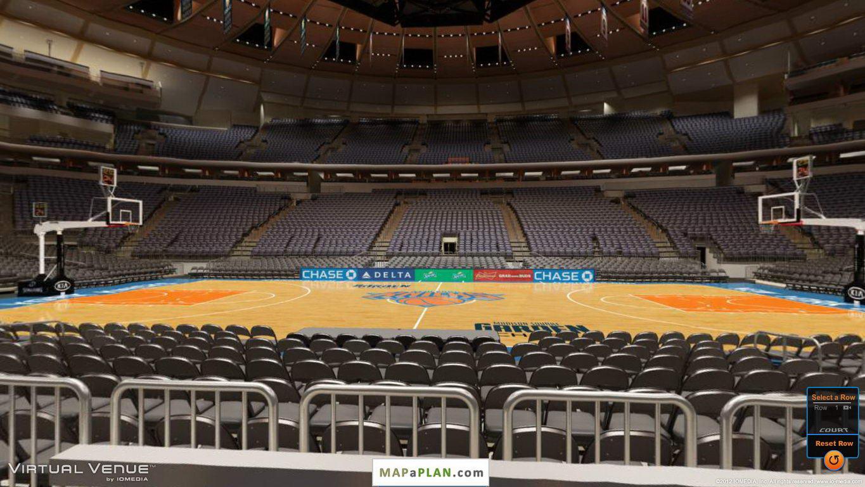 Madison Square Garden Seating Chart Detailed Seat
