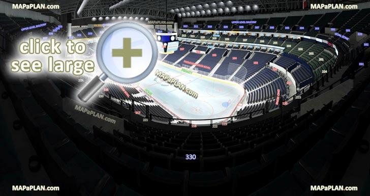 Bridgestone Arena Seat Row Numbers