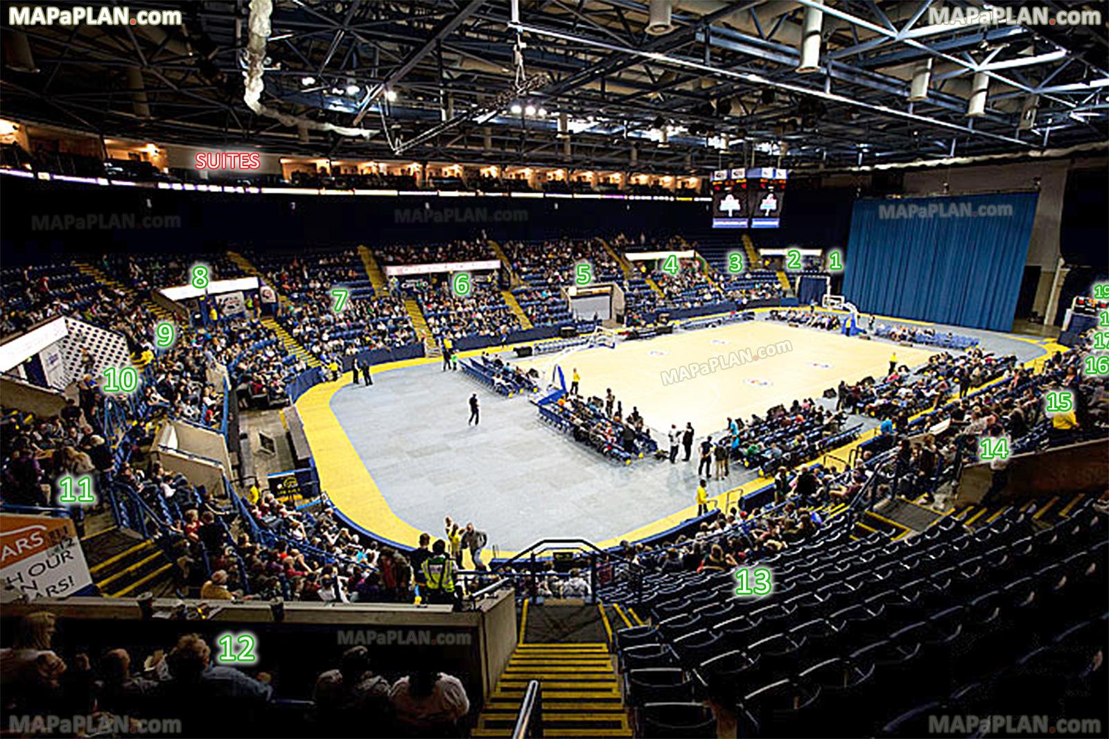 Nottingham Motorpoint Arena Seat
