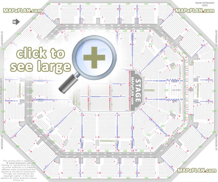 Talking Stick Resort Arena (US Airways Center) Seat & Row