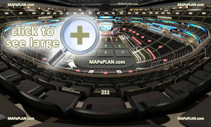View Section 211 Row H Seat 7 Virtual Venue Interactive Interior Tour Upper Level Inside