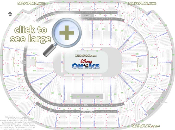 Bb T Center Seat Row Numbers Detailed