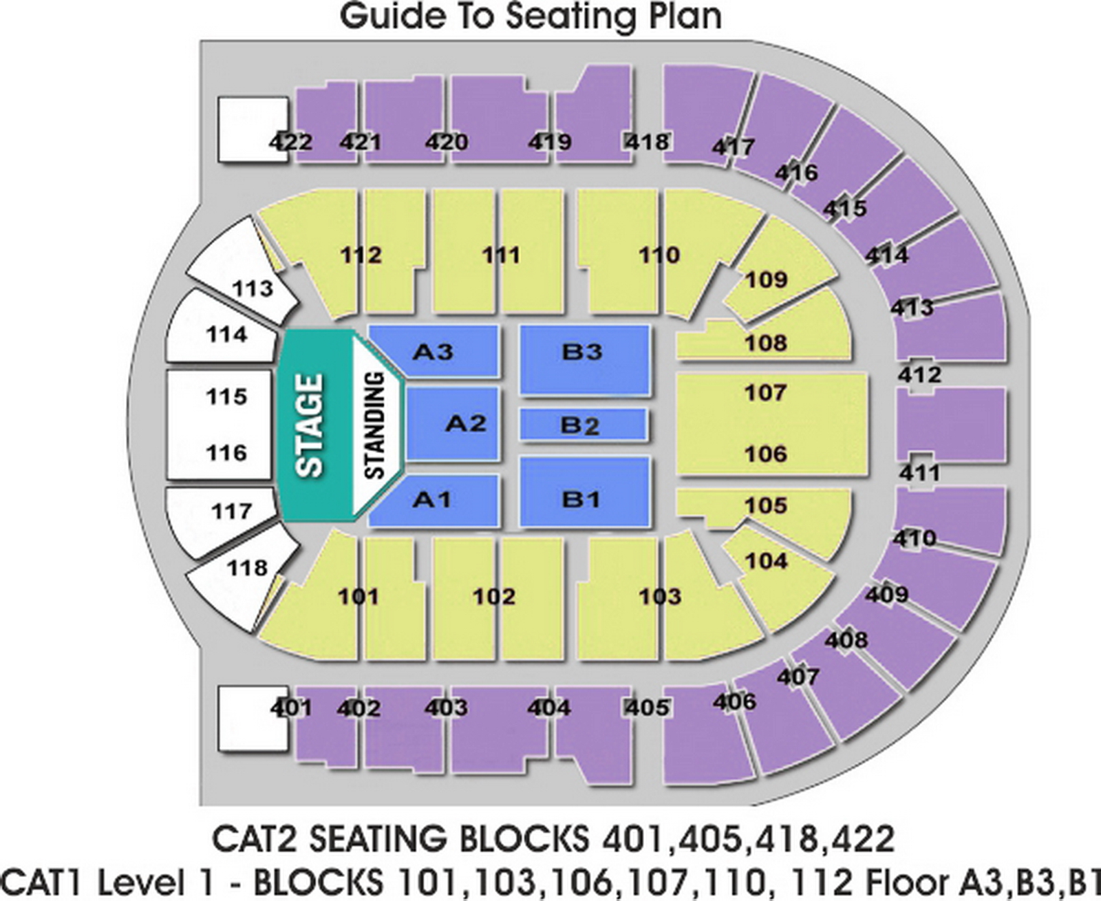 O2 Arena Seating Map O2 Arena London seating plan   Detailed seat numbers   MapaPlan.com O2 Arena Seating Map