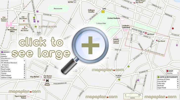 Bangalore City Full Map Pdf