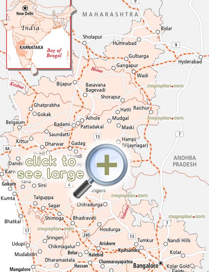 Karnataka Road Map Pdf