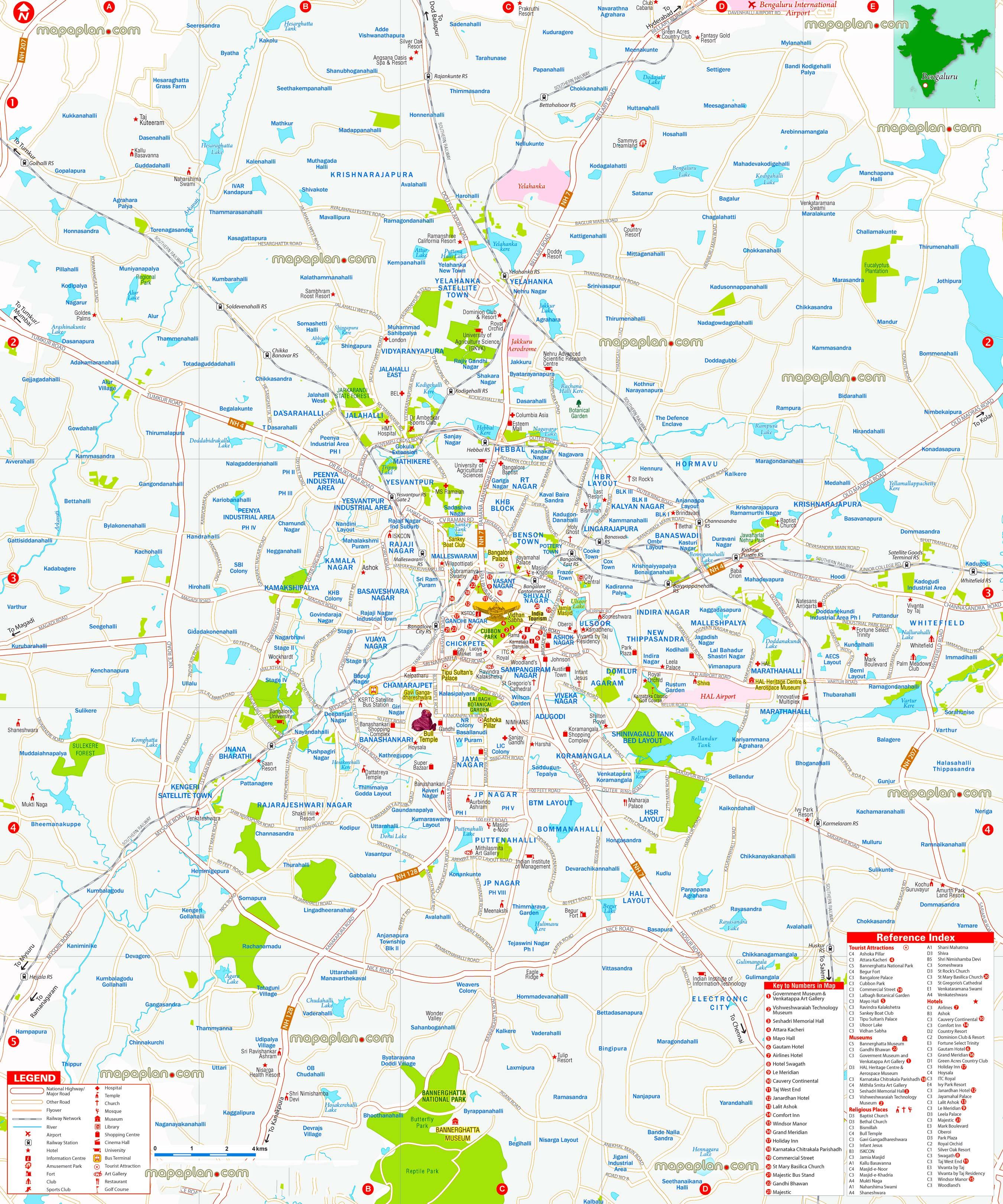 Bangalore tourist places pdf to word