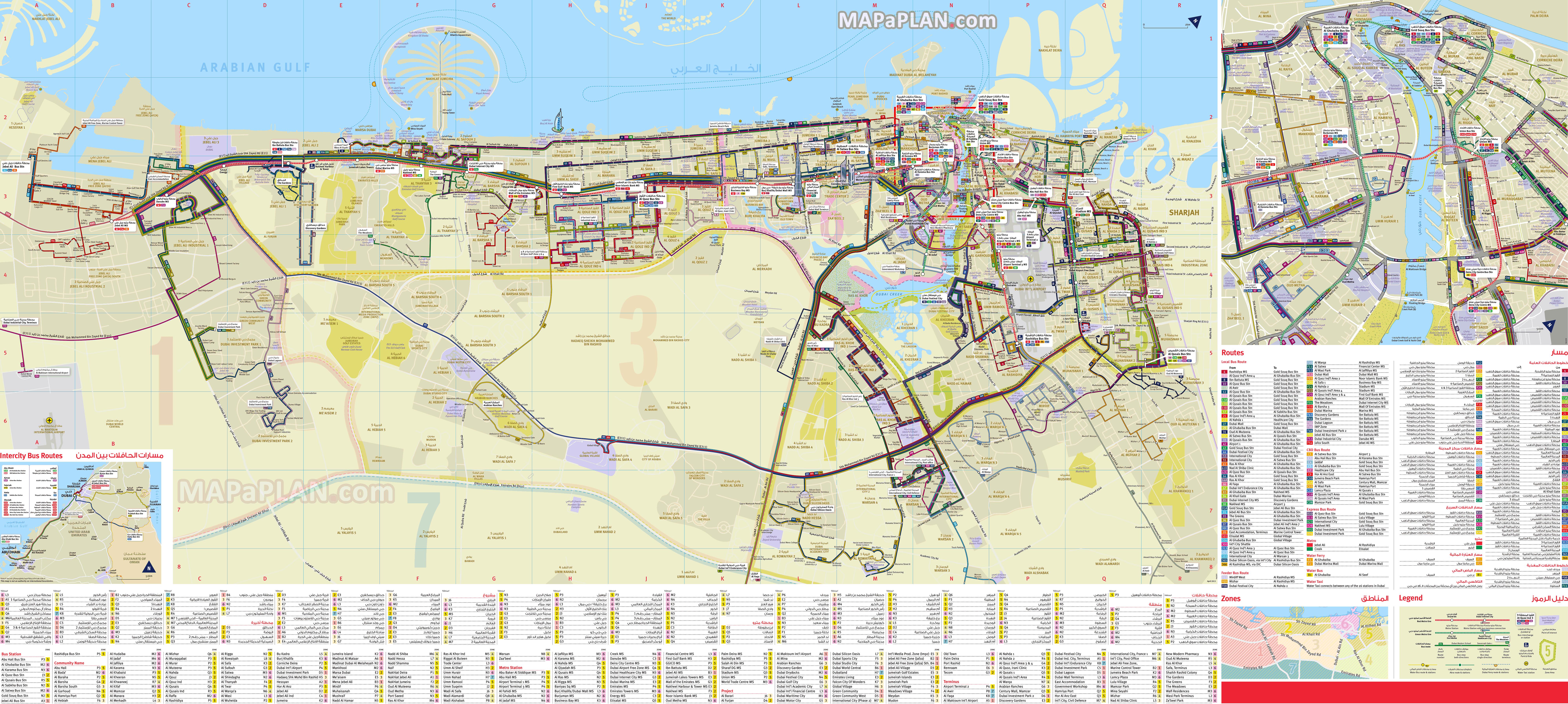 Dubai Road Map Pdf