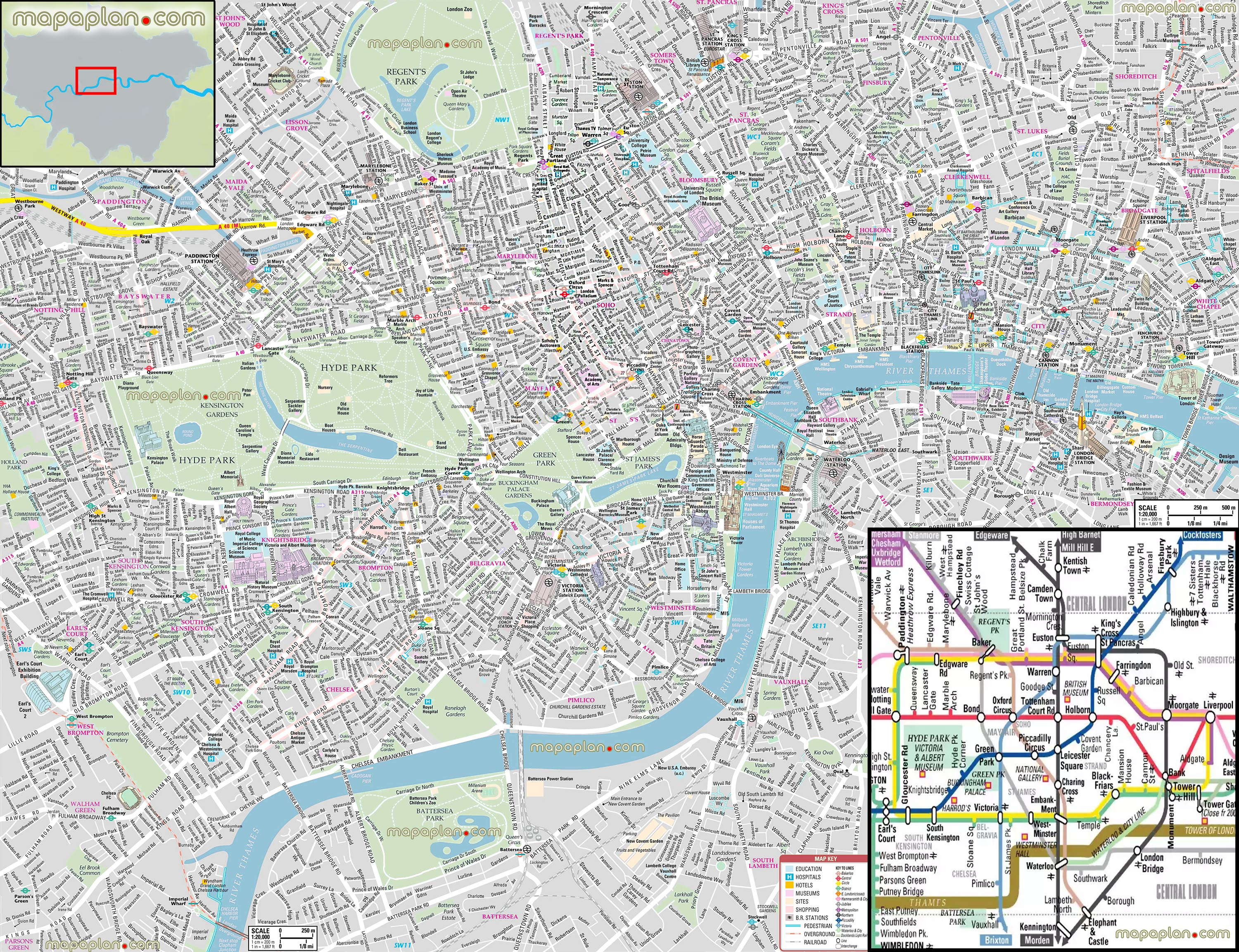 Tourist Attraction Map Of London.Tourist Attraction In London City Tourism Company And Tourism