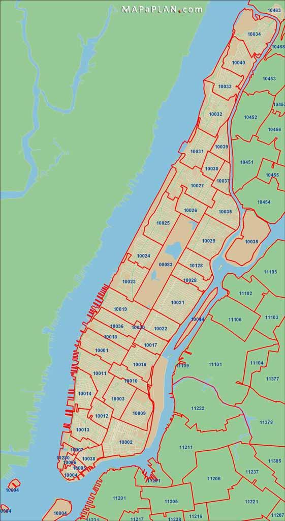 New york deals zip Code List By city Lookup