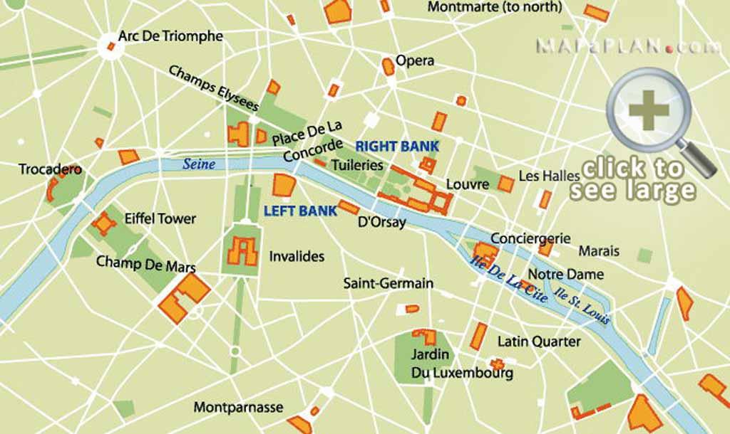 Paris Tourist Map Pdf